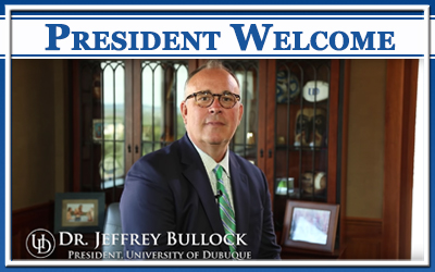 Welcome from President Bullock 2018