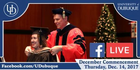 December 2017 Commencement - Facebook Live