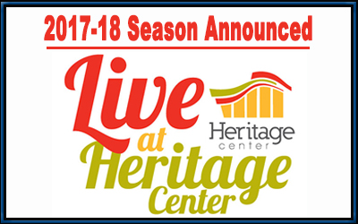 2017 Live at Heritage Center (400x250 px)