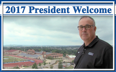 Link to welcome back from President Bullock