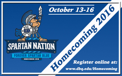 Homecoming 2016 image for dbq.edu (400x250px)