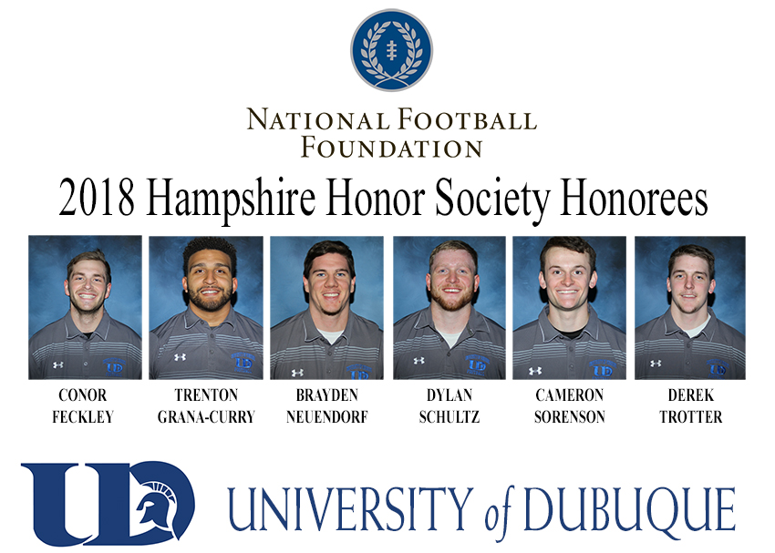 2018 NFF HAMPSHIRE HONOR SOCIETY