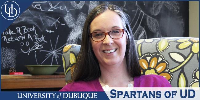 Spartans of UD: Christine Darr