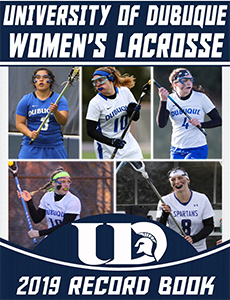 Women's Lacrosse 2019 Record Book