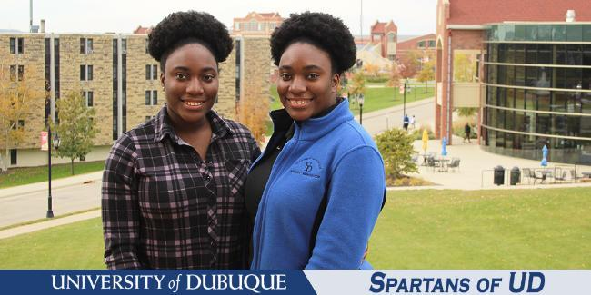 Spartans of UD - Powell twins