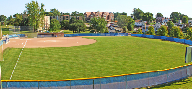 photo of UD softball field